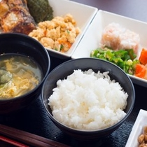 ★朝食盛り合わせ(和食)②★毎日日替わりです