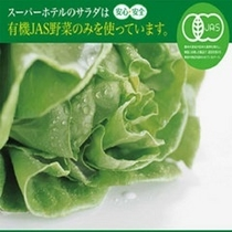 ★有機JAS認定野菜使用のサラダ★より健康に配慮!