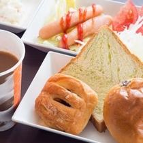 ★朝食盛り合わせ(洋食)②★パン派の方もどうぞ