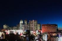 西新宿側夜景