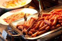朝食ビュッフェ ホットディッシュ