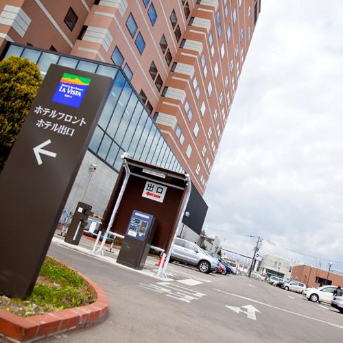 ホテル駐車場◆