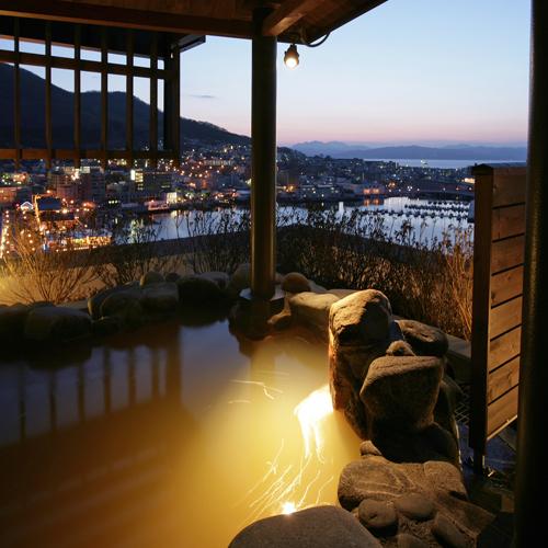 露天風呂(夜)◆