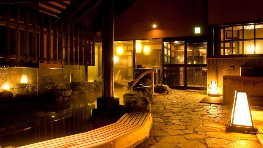 ■露天風呂(夜景)■