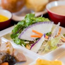 日本のサラダの1%未満・安心・素材の旨味・育てる土から健康