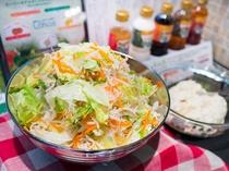 青森県産のサラダ