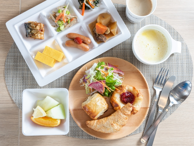 リニューアルオープン♪お洒落なパン好き朝食メニュー!