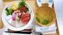 【海鮮丼(軽食)】