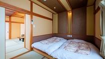 【禁煙/本館和室】バスなし・トイレ付き(12畳+寝室)