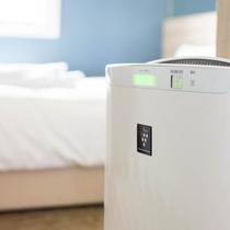 加湿器付き空気清浄機★心地よい目覚めのために、空気に潤いとマイナスイオンを★