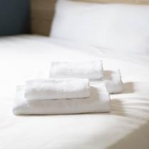 ハンドタオルにバスタオル★大浴場にお入りの際はお部屋からお持ちくださいませ★