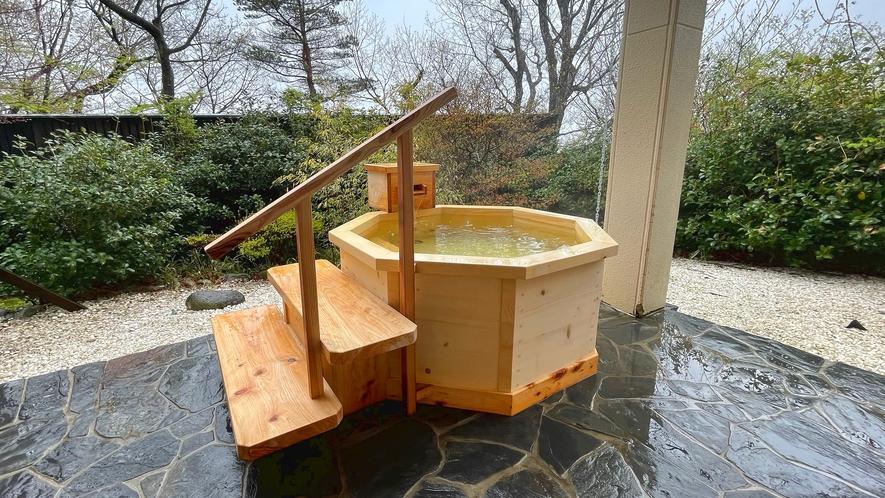 【106星林】檜の庭園露天風呂