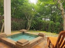 【107七夜】御影石の庭園露天風呂