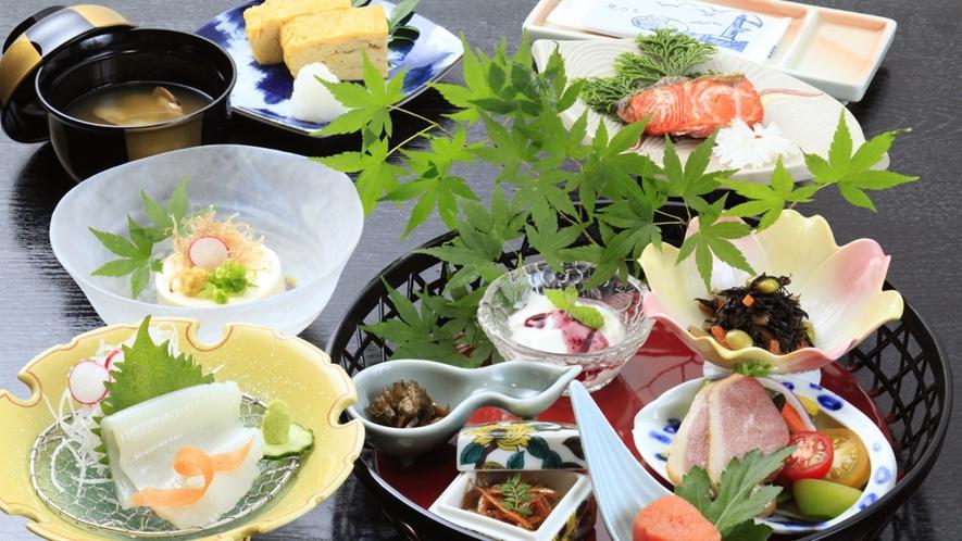 ■ご朝食一例/一日のはじまりに美味しいご飯をお召し上がりください。