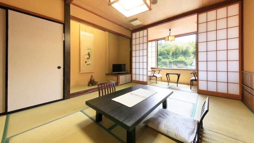 ■【落ち着いた雰囲気】和風客室(喫煙) ※一例/のんびりとお過ごしください。