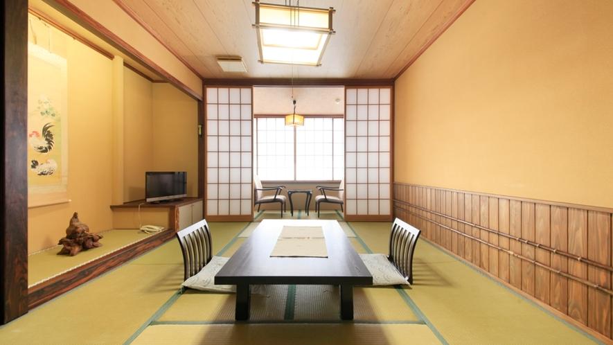 ■【落ち着いた雰囲気】和風客室(喫煙) ※一例/のんびり、お寛ぎください。