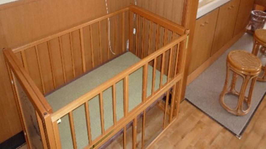 ◆大浴場 赤ちゃん用ベッド