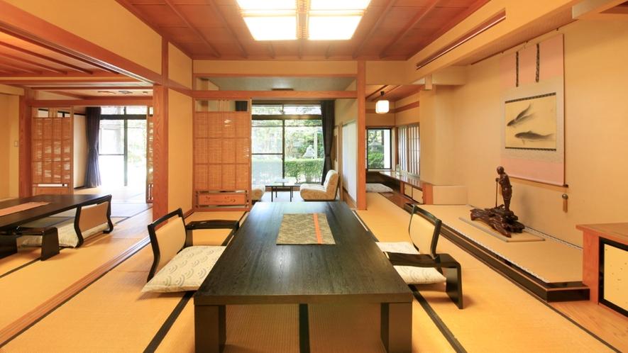 ■貴賓室/皇室の方々、各界のVIPがお泊りになられた当館自慢の貴賓室です。