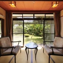■【温泉内風呂付】和風客室 ※景色一例/のんびりとお過ごしください。