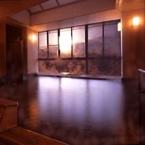 ■純和風展望風呂(男湯)/日の出イメージ