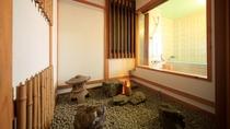 ■【温泉内風呂&マッサージ機付】純和風客室 つつじの間 ※一例/和みのひと時をお過ごしください。