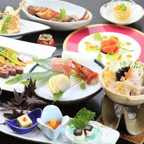 ■【11月-3月】ご夕食一例 ※画像はあんこう鍋がベース