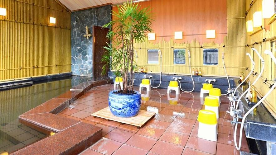 ■純和風展望風呂(女湯)/洗い場