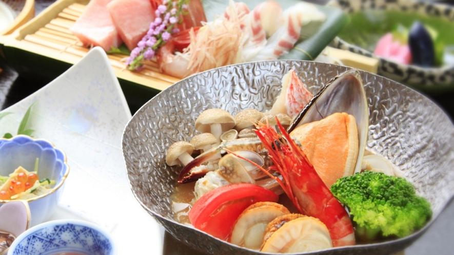 ■【4月-10月】ご夕食一例 ※画像はブイヤベース