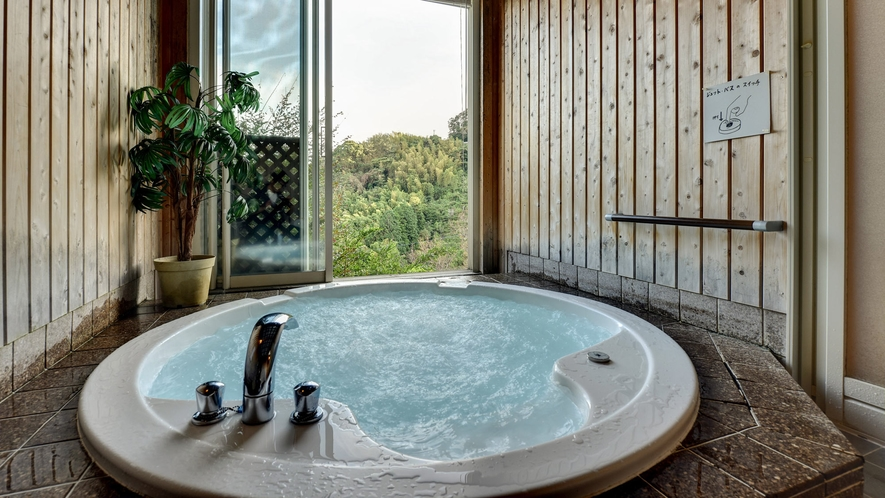 *無料貸切風呂 「ジェットバス」 日頃の疲れをゆっくり癒しましょう。