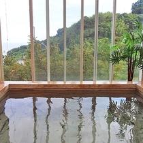 *■風呂 檜風呂 眺望一例