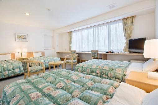 海の見える 洋室4ベッド