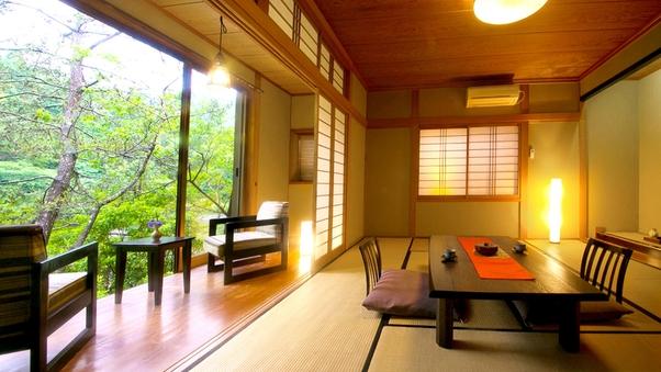 【あざみ・桜】和の粋を感じる池側客室 〔和室10畳〕