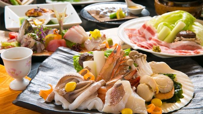 """■【""""朝獲れ""""旬魚◇海鮮会席<竹>】""""朝獲れ旬魚""""の旨みを存分に堪能できる♪2種のお料理をご用意♪"""