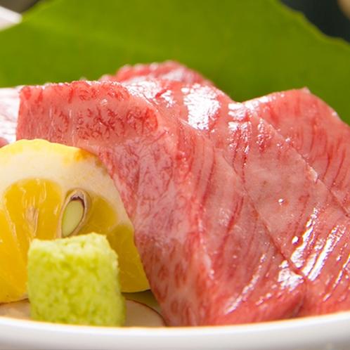 【黒毛和牛ステーキ】(一例)