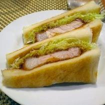 カツサンド≪「ゆきむら」創作料理≫