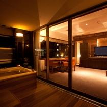 [スイートルーム]90平米/※お部屋により造りは異なります。
