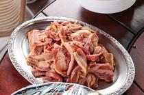 BBQのお肉