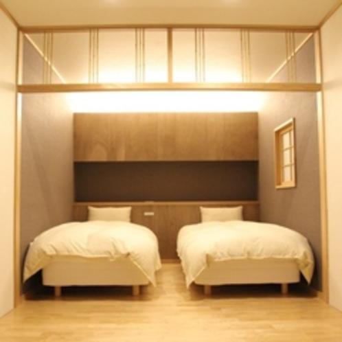和洋室ベッド