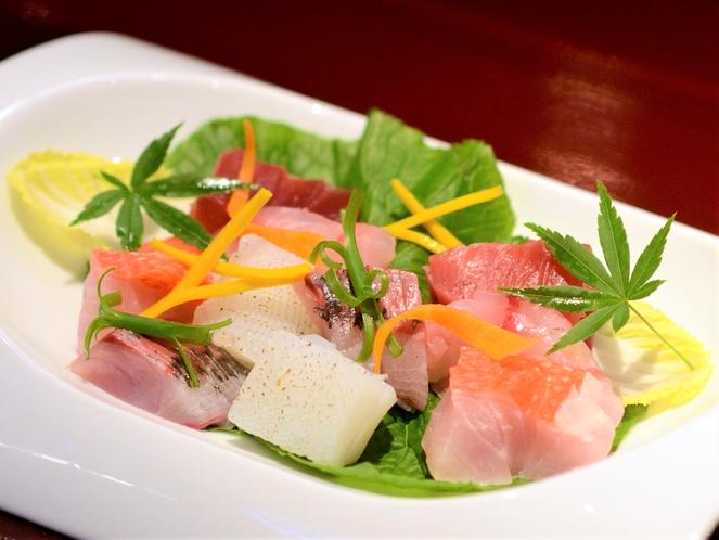伊豆地魚のお造り