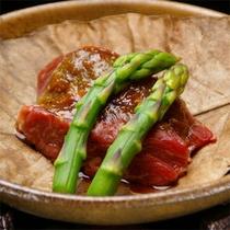 【夕食】朴葉焼き