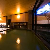 ◆大浴場◆昔地酒も作られていた美味しい湧水が融合した特別な温泉