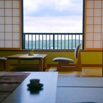 ◆12.5畳和室◆-縁側に腰かけお茶菓子と名物の「加賀棒茶」でホッとひと息-