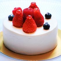 アニバーサリーにおすすめ☆生クリームケーキ
