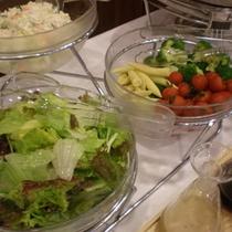 ☆朝食バイキング 新鮮サラダ