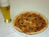 ピッツァ&ビール