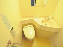 【トイレ】使いやすく清潔なトイレです。