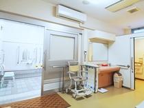 【高齢者、障害者用リハビリ浴室】快適にご入浴いただける設備が整っています