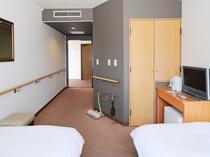 【バリアフリールーム】介護ベッドも設置可能です