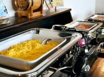 【朝食バイキング】和食から洋食まで様々ご用意しております。