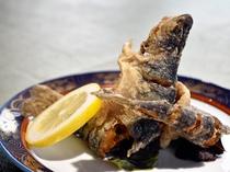 【夕食バイキング(夏季限定)】チョイスメニュー「山女魚のから揚げカレー風味」